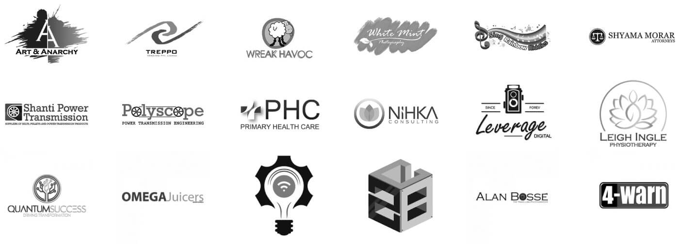 Logos of people we have worked with